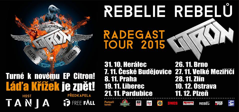 rebelie rebelu tour